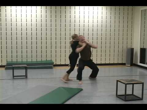 Unarmed Stage Combat - Gina and Tom