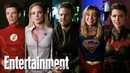 Arrowverse Superheroes Say Goodbye to Stephen Amell Entertainment Weekly