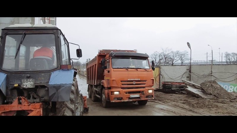 ЖК Трилогия: строительно-монтажные работы, сер. апреля 2018
