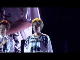 140823 TEEN TOP World Tour HIGH KICK in Beijing :: 짧은 베이징 토크 틴탑 니엘 focus