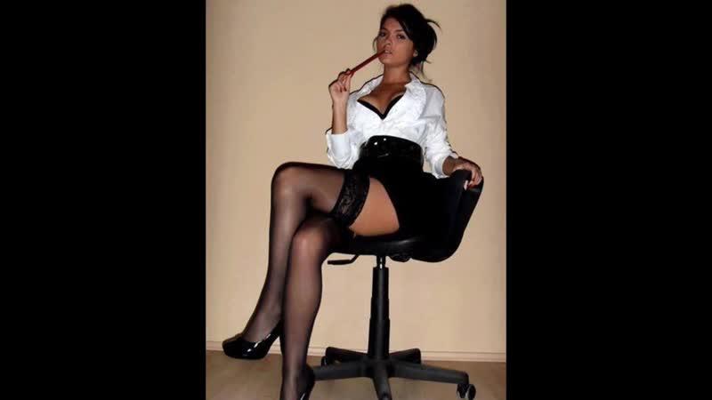 Girls in stockings and pantyhose Девушки в чулках и колготках 380