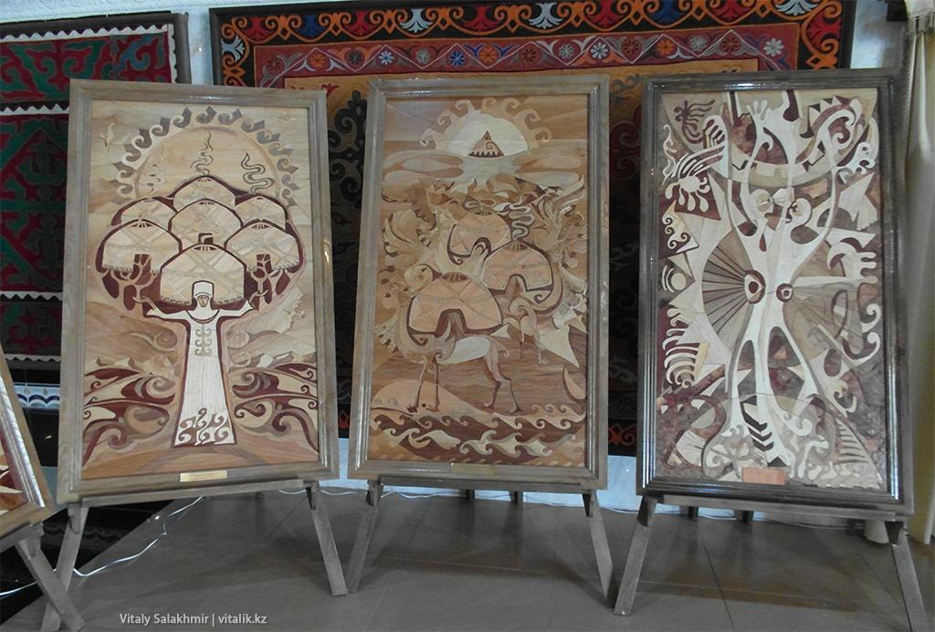 Картины из дерева, Рух Ордо 2018