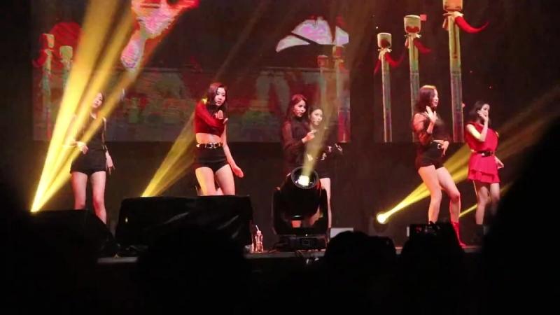 CLC Live Show in Hong Kong - Crazy Black Suit