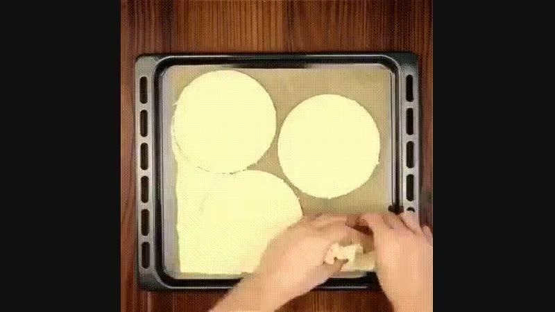 Пицца-торт - рецепт необыкновенной пиццы