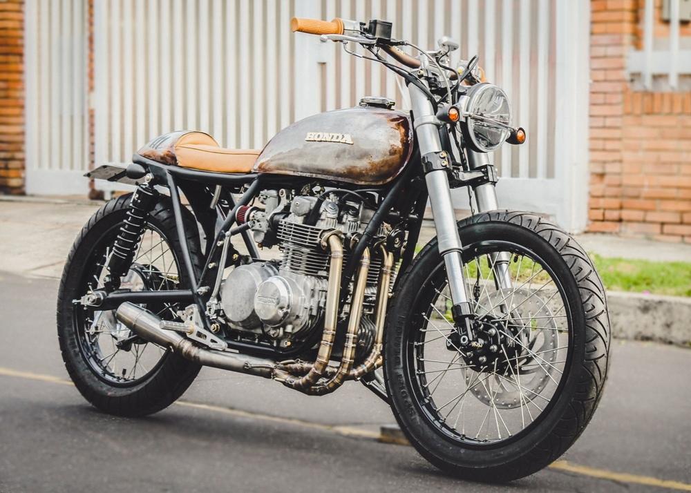 Pasquale Motors: брэт-кафе Honda CB500