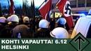 National Socialist March in Helsinki - Kohti vapautta! 6.12.2018
