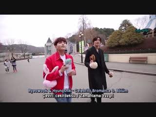 160331 Super Junior Ryeowook & ZE.A Hyungshik - Celebrity Bromance 3. Bölüm (Türkçe Altyazılı)