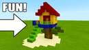 Minecraft: How To Make a Fun Tree House