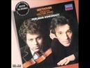 Beethoven violin sonata No 5 Spring Mvts 3 and 4 3 3 Perlman