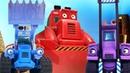Развивающий мультик про Синий Трактор на стройке. Туман