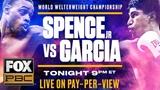 Errol Spence Jr. vs Mikey Garcia Non-televised Prelims Part II PBC ON FOX