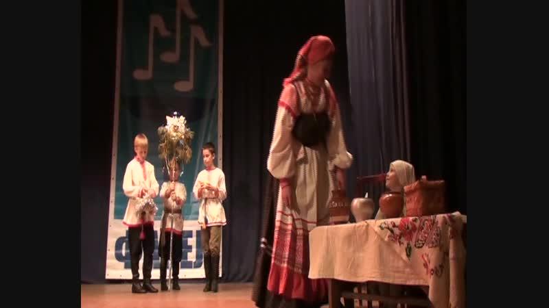 Образцовый детский фольклорный ансамбль Боркунцы Колядки на Святки