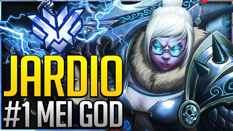 Jardio - 1 WORLD MEI GOD | THE FROSTY DEVIL | Overwatch Pro Montage