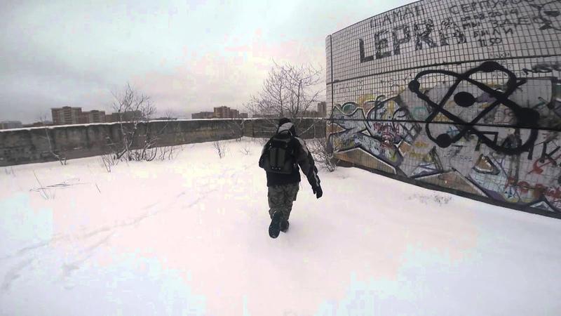 ХЗБ. ЗАПАЛ на крыше от UrbanWalk. Погоня от ЧОПовцев.