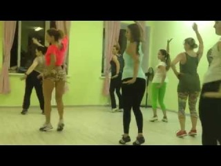 Sasha Lomakina. Samba Lesson at Mambo GROUP