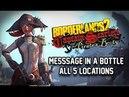 Borderlands 2 DLC Walkthrough - All 5 Message in a Bottle Locations Tutorial Guide Captain Blade
