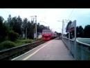 Отправление ЭД4М 0056 с платформы Вторчермет поездом 7205 Керамик Екат Пасс