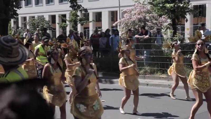 Kaneval der Kulturen 2018- So bunt feiert Berlin