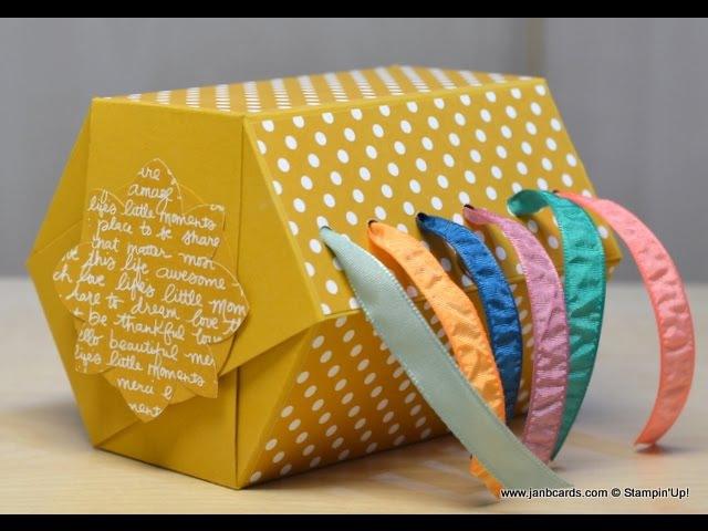 No.257 - Ribbon Box - JanB UK Stampin' Up! Demonstrator Independent