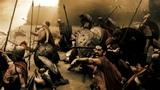 Леонид бросает копье в Ксеркса ► 300 спартанцев 2006