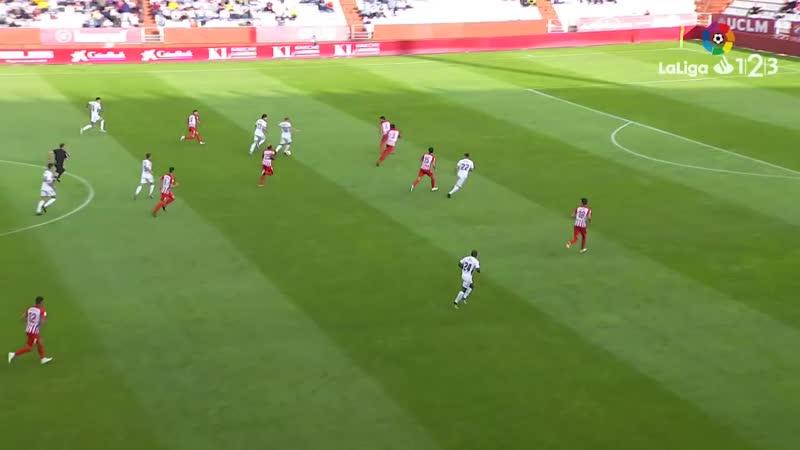 Альбасете Баломпье - UD Альмерия, 1-1, Сегунда 2018-2019, 10 тур