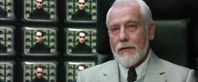 The Matrix Reloaded - The Architect Scene