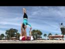 Acro Pops on Gulfport Beach in Florida