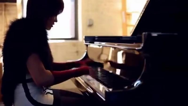 Юджа Ванг (Yuja Wang). Испытание рояля Steinway Sons. Токката ре минор, С. С. (2)