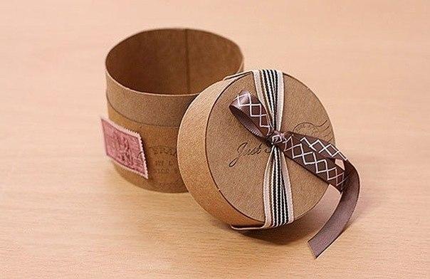 Handmade/Упаковка.  Процитировано. как сделать круглую коробку. в цитатник. круглая коробка своими руками.