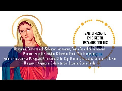 Santo Rosario en directo 10 de diciembre de 2018 Por la conversión de los ateos