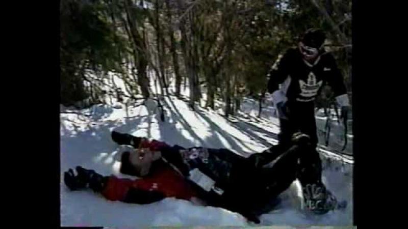 Conan Learns Snowboarding @ 2002 Olympics