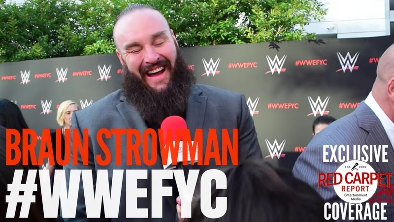 "[WBSOFG] Braun Strowman interviewed at the ""WWE"" FYC Event WWEFYC WWE Emmys"