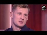Александр Волков и Тарас Кияшко в студии МАТЧ! ТВ