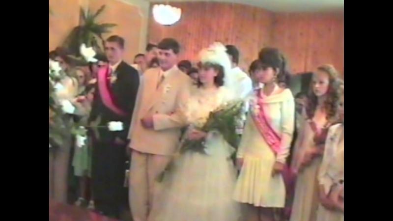 Свадьба родителей (Говорушенко), мои крестины