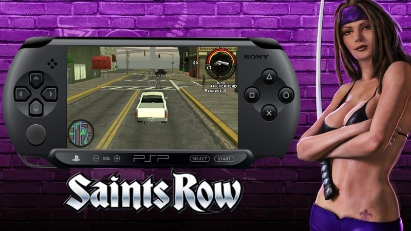 Saints Row на PSP! (Отмененная игра)