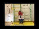 Шведская стенка с сеткой Karusel S3