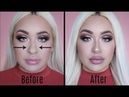 HOW TO FAKE A NOSE JOB WITH MAKEUP FOR BEGINNERS