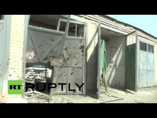 Ukraine: Bombed-out lives in Krasny Liman warzone
