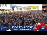 FIFA Fan Fest SPb: реакция на финальный свисток финала
