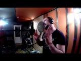 Эдуард Видный на студии звукозаписи Y-Wave