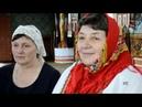 Гарний обряд хрещення трьох новонароджених дітей в селі Космач - Good baptismal rite