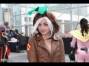 ROGUE - X-Men Playboy Bunny Mashup at New York Comic Con 2013