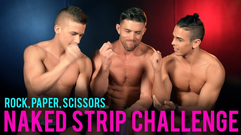 Someones Getting Naked: Rock, Paper, Scissors, STRIP CHALLENGE! Caution: Nudity