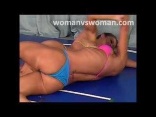 Free girl wrestling video