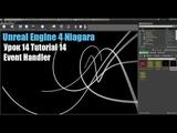 Tutorial 14 Niagara Unreal Engine 4 Event Handler