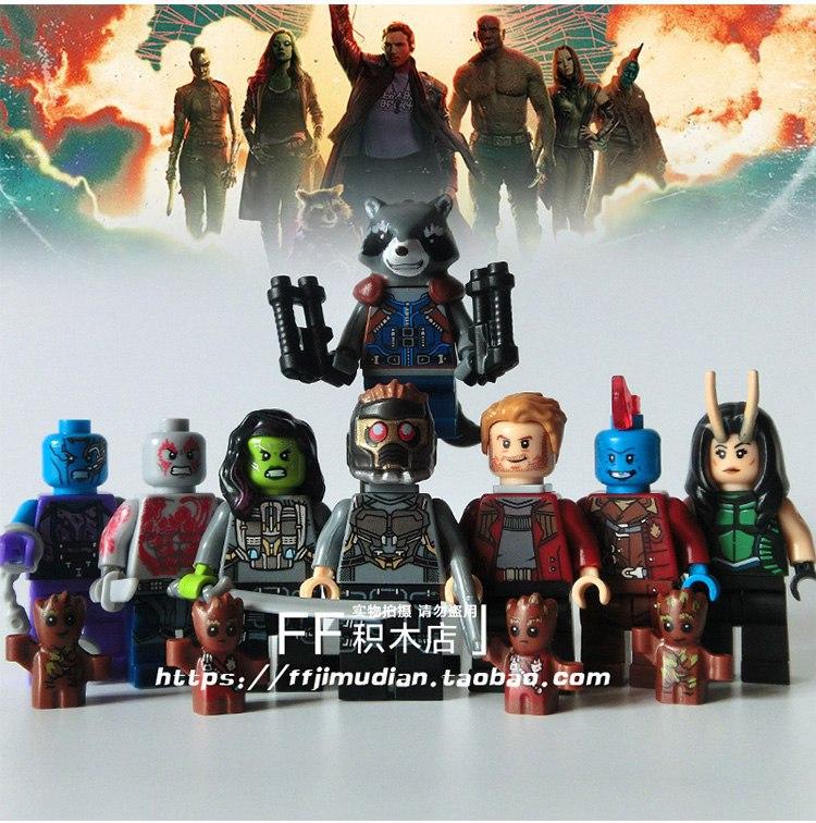Комплект фигурок Lego Guardiand of the galaxy Стражи Галактики