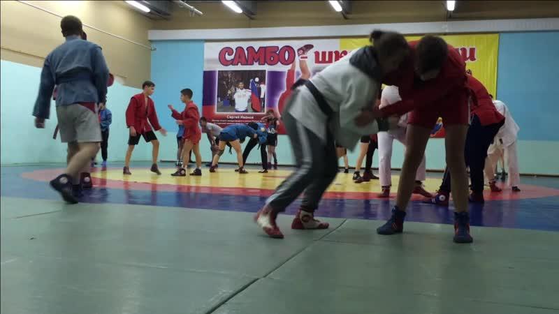 ДЮСШ-1 подготовка к первенству г. Новочебоксарск по самбо 05.11.2018