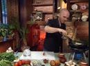 Телекафе Кухни мира Абхазская Салат Весенний Баклажаны с зеленью Чурек Курица по гудаутски
