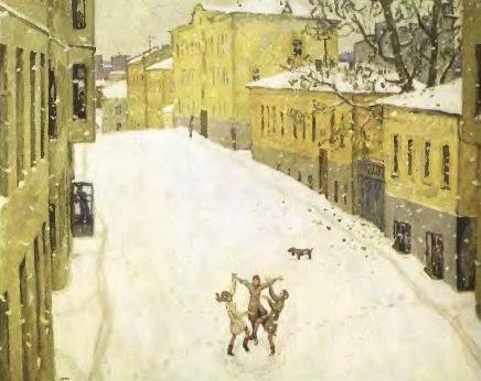 сочинение в форме дневниковых записей и попова первый снег