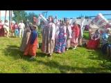 Праздник в Городецке. 7 июля 2018. Иван День. Детский фольклорный коллектив